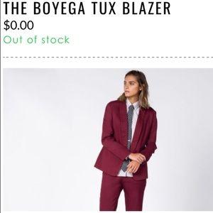 Menswear Inspired Blazer - The Boyega Tux Blazer